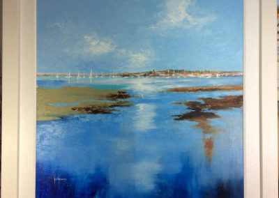 Impressionist Bosham in Blue