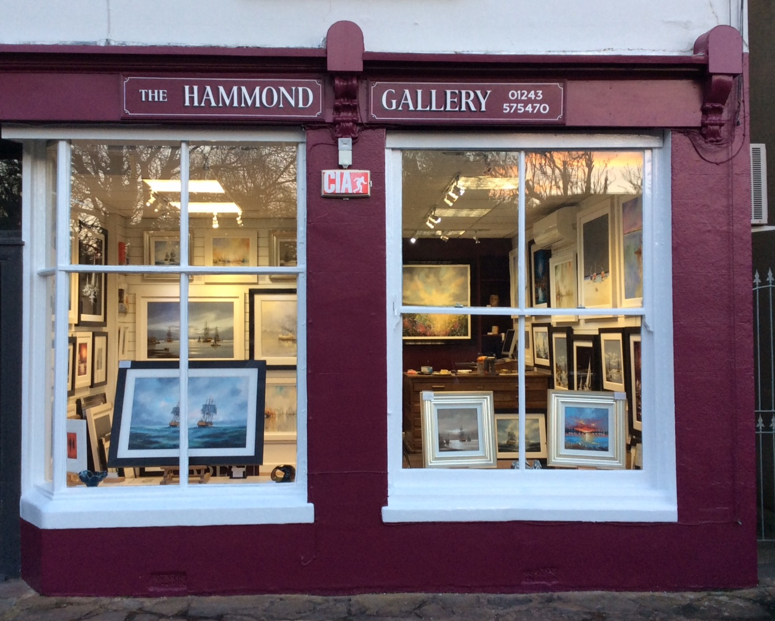 The Ken Hammond Gallery - Bosham, West Sussex.