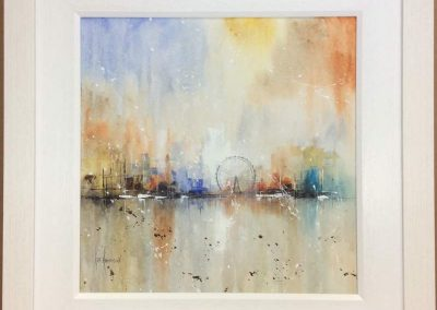 Abstract London Eye