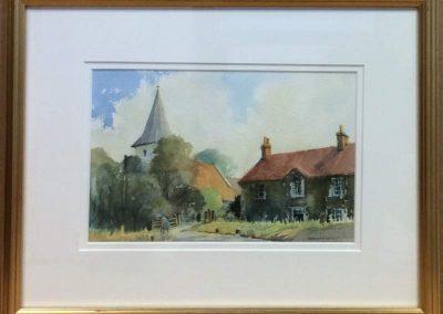 Bosham Church by Douglas Eades