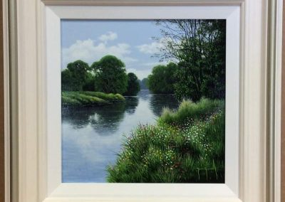 By a Quiet River by Terence Grundy