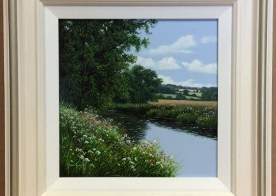 On th River Bank by Terence Grundy