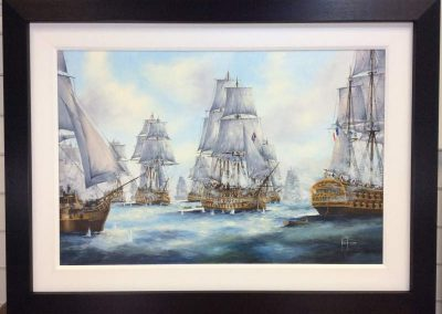 The Victory at Trafalgar